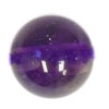 Semi-Precious 6mm Round Amethyst
